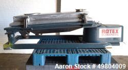 Used- Rotex Screener, Model 111A AL/SS, Stainless Steel.