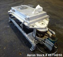 Used- Rotex Screener, Model 111SANALSS, 304 Stainless Steel.