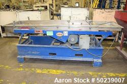 "Used- Witte Rectangular Classifier, Stainless Steel. 27"" Wide x 104"" long screen 2 deck for fines & overs. Serial#4538-5."