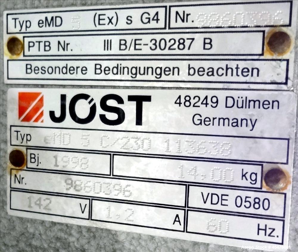 Used- Mogensen Sizer Screener, Model SPS 0554