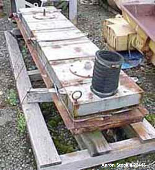 Used- Carbon Steel Rotex Screener