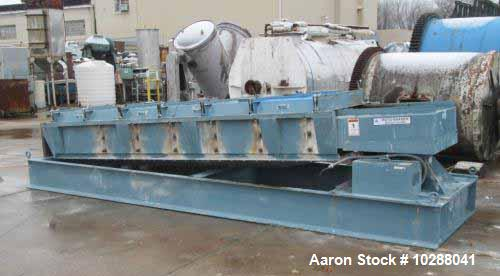 Used- Sprout Bauer Roto-Shaker Vibratory Screener. Carbon steel construction, Model 3.5 x 10, 36 x 10 screen, three deck, to...