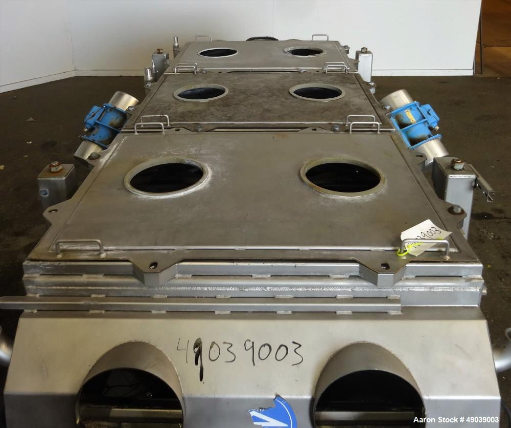 Used- Sweco Wet Rectangular Separator, Model EM3-1W
