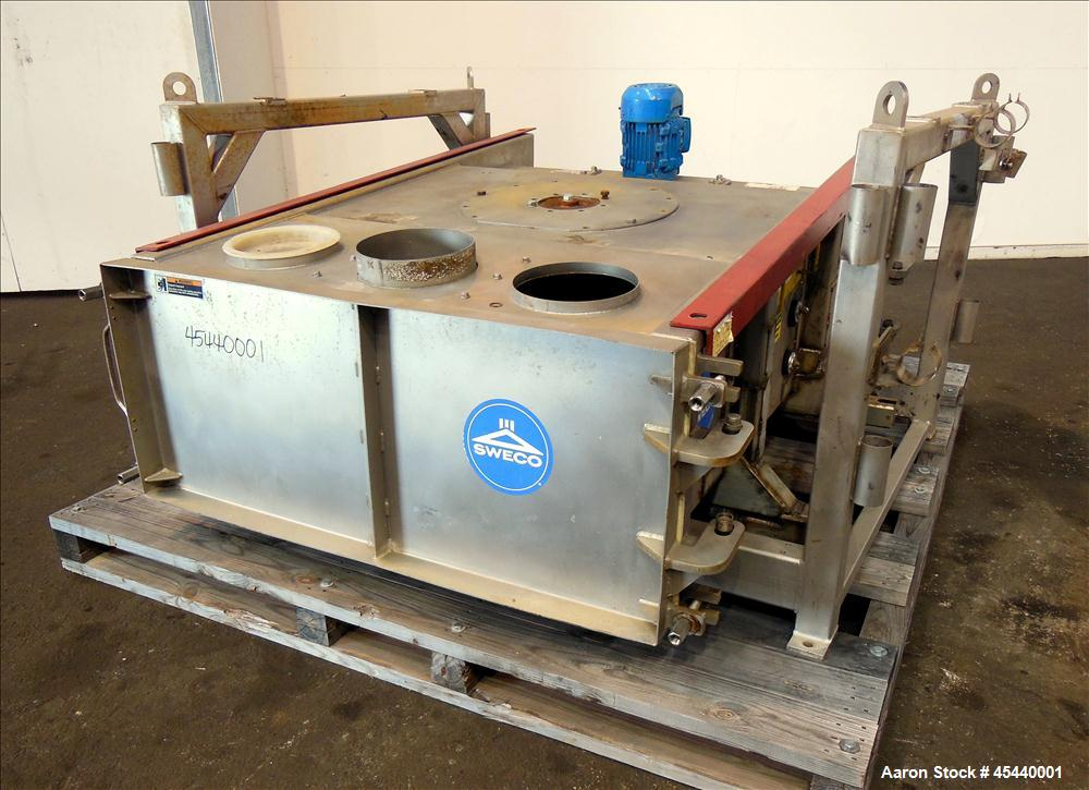 Used- Sweco GyraMax Gyratory Sifter, Model GL-4X5S5