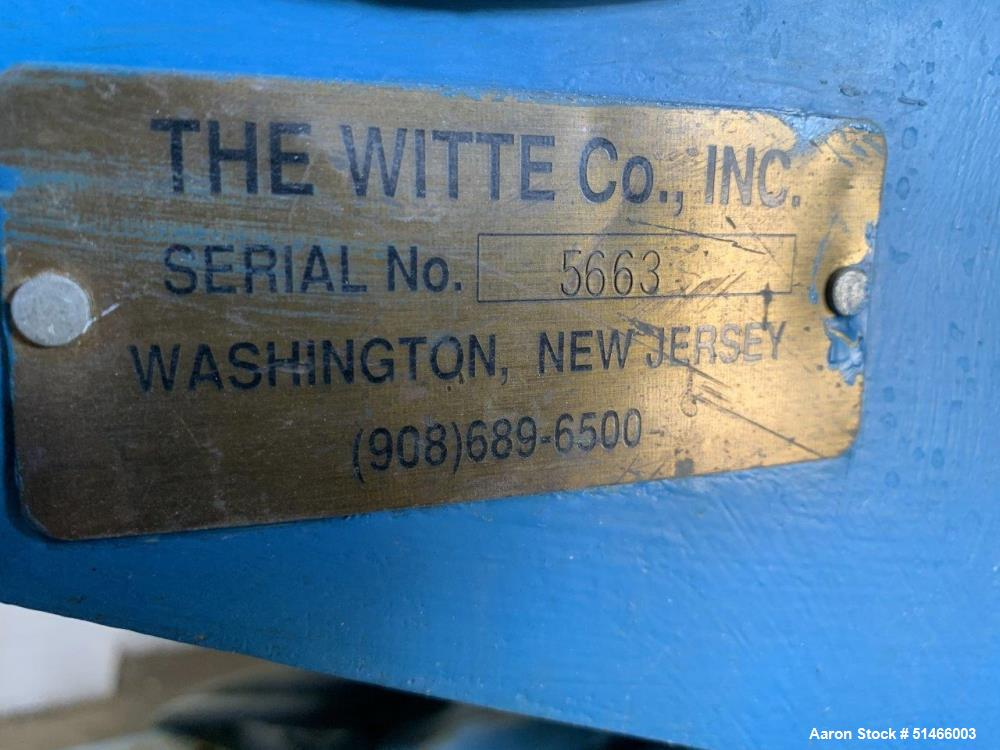 Used- Witte Rectangular Screener / Classifier