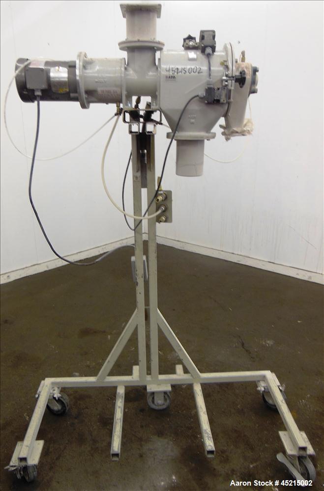 Used- Azo Cyclone Screener, Model E-240-B1, alumi