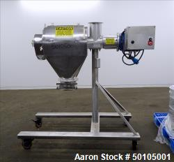 Used- Kason Portable Centri Centrifugal Sifter, 304 Stainless Steel.
