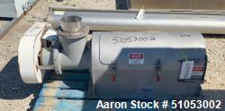 Used-Prater Rotary Screener, Stainless Steel