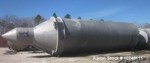 Used- Allied Industries Approximately 5000 cubic foot Aluminum Silo