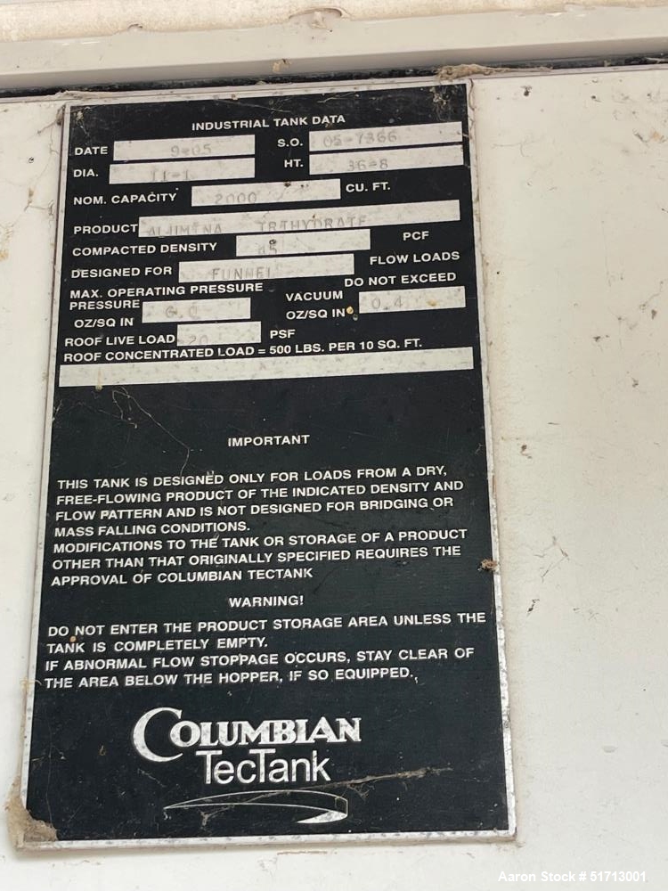 Used-Columbian Tank, Silo