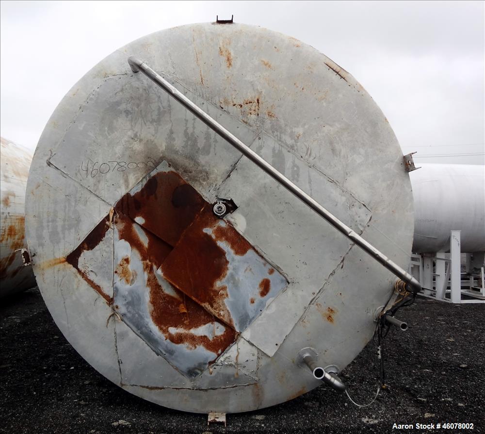 Used- Cherry Burrell Storage Silo, Approximate 20,000 Gallon