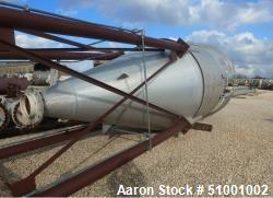 Used- 3,250 Gallon Aluminum Silo