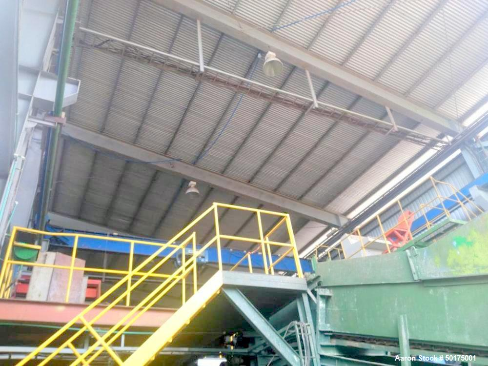 Used- Sugar Mill, 35 Tons Prepared Sugar Cane per Hour Grinding Capacity.