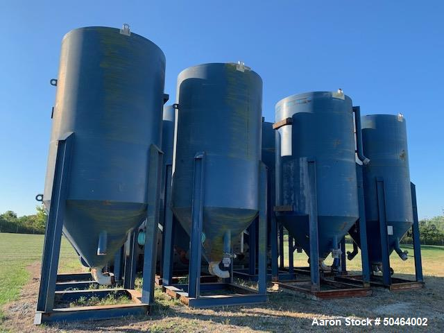 Used - Carbon Steel Lined Clarifier Tank.