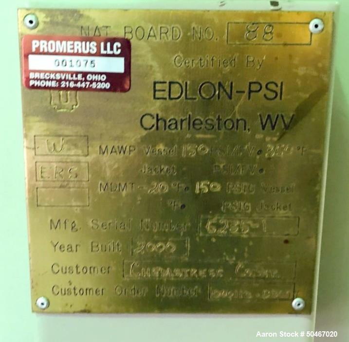 Used-50 gallon Edlon-PSI receiver tank