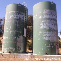 Used- Tiger Tank, 22,030 Gallon, Carbon Steel. Vertical. Flat top and bottom. Yr. 2008. Last used for water storage.