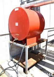 Used- Steel Tank & Fabricating Aboveground Flammable Storage Tank, Approximate 100 Gallon, Carbon Steel, Horizontal. Approxi...
