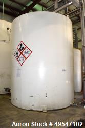 """Used- Methylate Aboveground Flammable Storage Tank, Approximate 11,000 Gallon, Carbon Steel, Vertical. Approximate 144"""" diam..."""