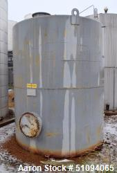 "Used- Squibb Tank Company Aboveground Flammable Liquid Tank, 7050 Gallon, A36 Carbon Steel, Vertical. Approximate 120"" diame..."