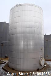 "Used- Squibb Tank Company Aboveground Flammable Liquid Tank, 15,000 Gallon, A36 Carbon Steel, Vertical. Approximate 143"" dia..."