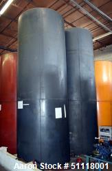 "Used-Tank, Approximate 2500 Gallon, Carbon Steel, Vertical. Approximate 60"" diameter x 180"" straight side, flat top and bott..."