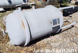 "Unused- Apache Pressure Tank, 160 Gallon, Carbon Steel, Vertical. 29.375"" Diameter x 42"" straight side, 2:1 elliptical heads..."