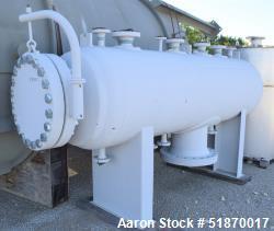 "Unused- Apache Pressure Tank, 534 Gallon, Carbon Steel, Horizontal. 33.5"" Diameter x 102"" straight side, 2:1 elliptical head..."