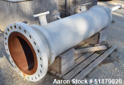 "Unused- Apache Pressure Tank, 80 Gallon, Carbon Steel, Vertical. 17"" Diameter x 69"" straight side, flat bolt on top, 2:1 ell..."