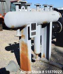 "Unused- Apache Pressure Tank, 35 Gallon, Carbon Steel, Horizontal. 12"" Diameter x 54"" straight side, 2:1 elliptical heads. I..."