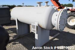 "Unused- Apache Pressure Tank, 272 Gallon, Carbon Steel, Horizontal. 29.625"" Diameter x 78"" straight side, 2:1 elliptical hea..."