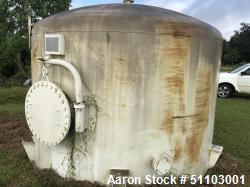 Used- Bendel Tank and Heat Exchanger Tank, 3,500 Gallon