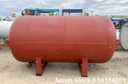 Used- Hamilton Engineering Hot Water Tank, Approximately 1,500 Gallon