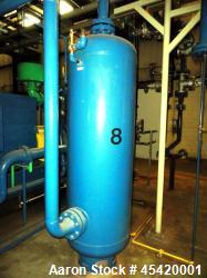 Used- Silvan Industries High Pressure Compressed Air Receiver Tank, Approximate