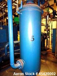 Used- Carbon Steel Silvan Industries High Pressure Compressed Air Receiver Tank