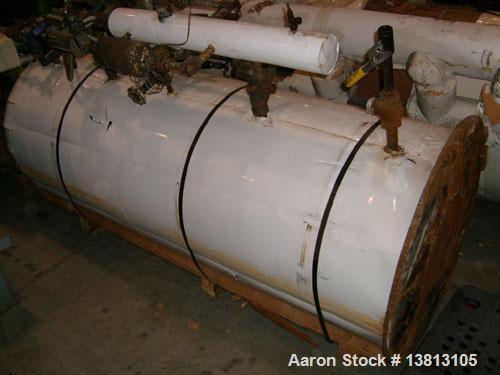 Used- 250 Gallon Vertical Ammonia Receiver Tank
