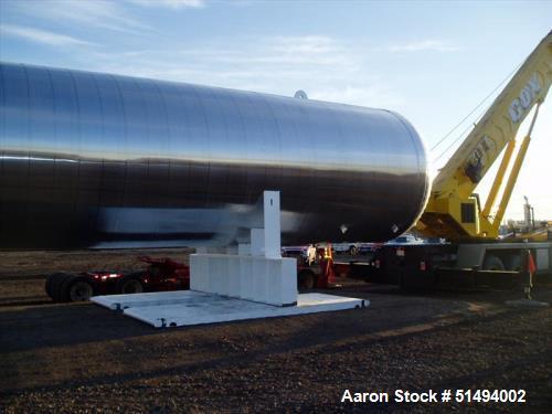 Used- Maxfield Horizontal CO2/ LP Vessel
