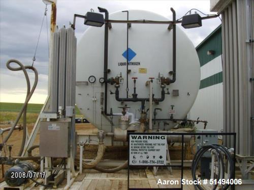 Used- APCI Horizontal Nitrogen Vessel