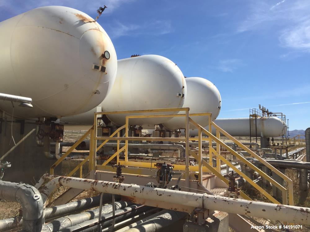 Used - AMF Beaird Inc. 90,500 Gallon Carbon Steel Horizontal Pressure Vessel.