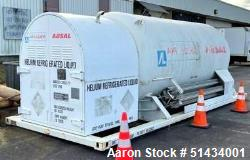 Unused- Air Liquide Refrigerated Liquid Helium Storage Vessel
