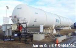 Used- Taylor-Wharton Horizontal Nitrogen Vessel, 50,000 USWG