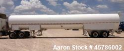Used- Tomco Equipment Company 50 Ton Portable CO2 Storage Tank