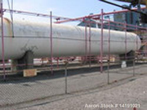 Used-30,000 Gallon horizontal butane storage tank manufactured by Trinity Mfg Co. Design pressure 250 psi @ 125 deg F. 9' di...