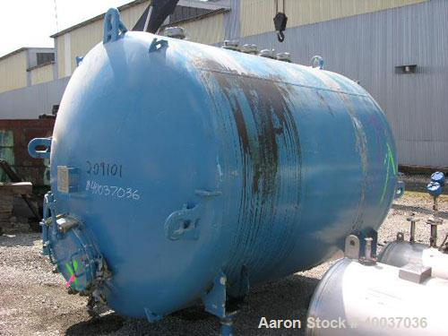 Used- 2500 Gallon DeDietrich Glass Lined Tank