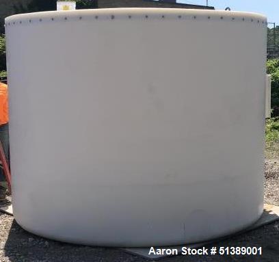 Unused- Protectoplas Company 4,000 Gallon Polyethylene Storage Tank