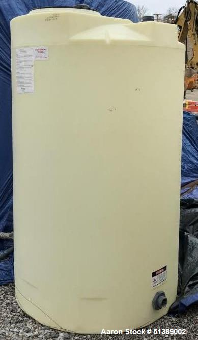 Unused- Assmann 550 Gallon High Density Cross Link Polyethylene Tank