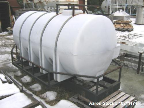 Used- 1625 Gallon Plastic Giles Tank