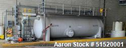 Used- Augusta Fiberglass 10,000 Gallon Fiberglass Tank
