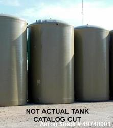 "Unused- L.F. Manufacturing FRP Tank for Above Ground Service. 8,000 Gallon capacity. 10-10"" diameter x 13-7"" straight sidewa..."
