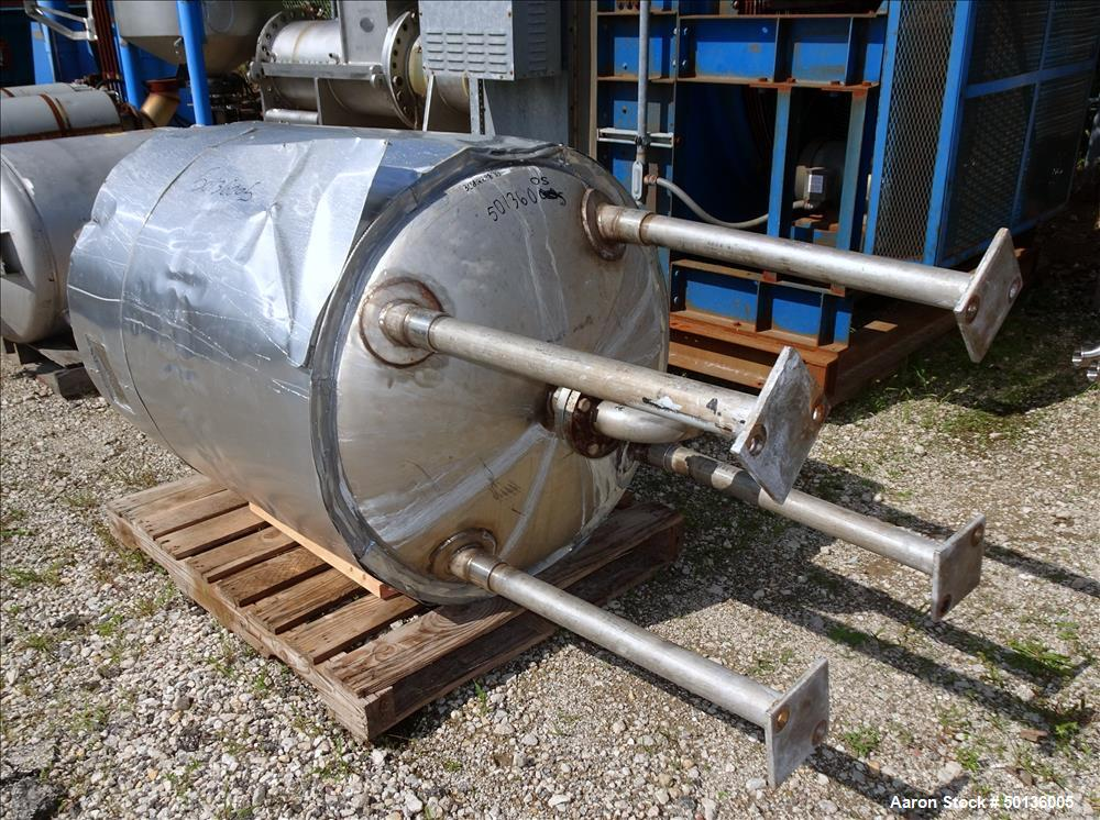Used- Overly Inc. Pressure Tank, Approximate 200 Gallon