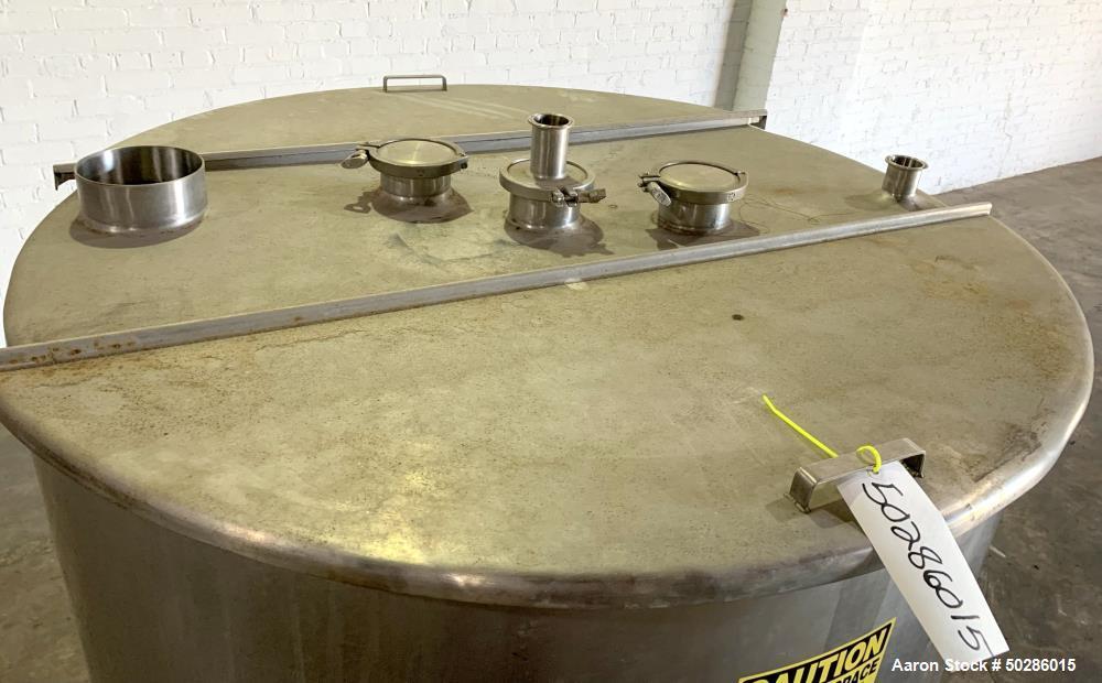 Stainless Steel 400 Gallon Storage Tank